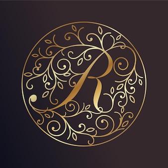 Logotipo de lujo real