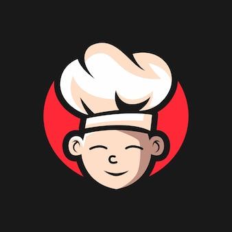 Logotipo de maestro de cocina