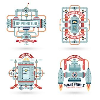 Logotipo de maquinaria
