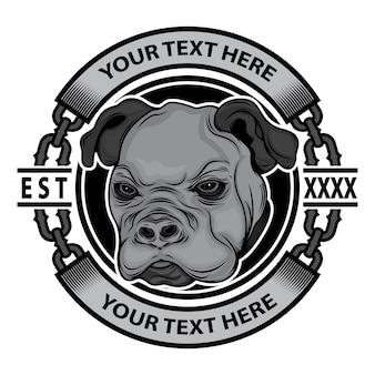 Logotipo de la marca de ropa para perros