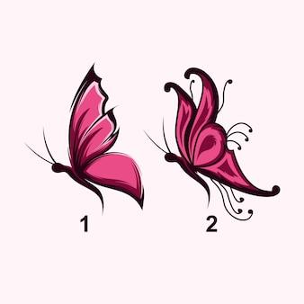 Logotipo de la mariposa