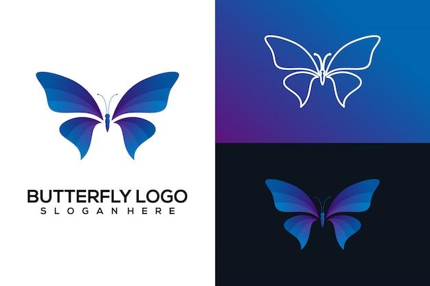 Logotipo mariposa