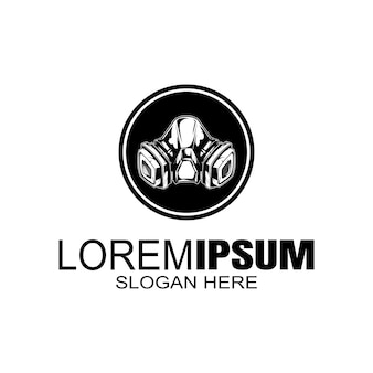 Logotipo de la máscara logotipo creativo