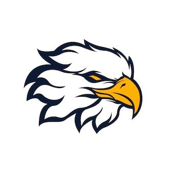Logotipo de la mascota del águila deportiva
