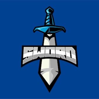 Logotipo de la mascota espada