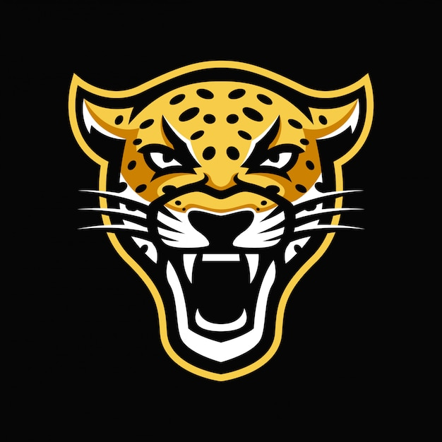 Logotipo de la mascota de jaguar