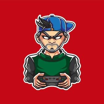 Logotipo de la mascota de los jugadores