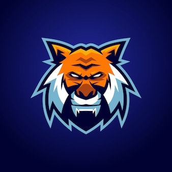 Logotipo de la mascota del tigre