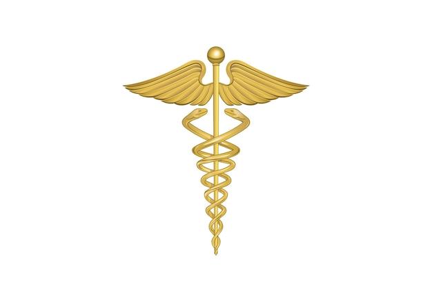 Logotipo médico de farmacia