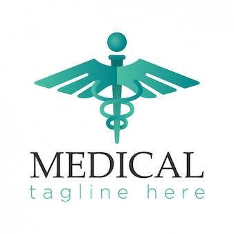 Logotipo de médicos de color brillante