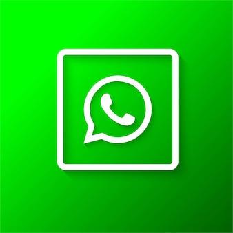 Logotipo moderno de whatsapp