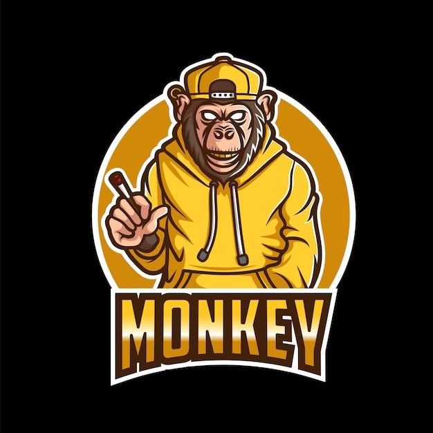 Logotipo de monkey business esport