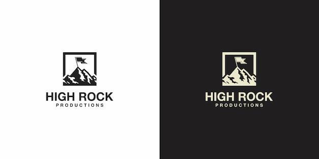 Logotipo de la montaña
