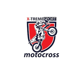 Logotipo de motocross