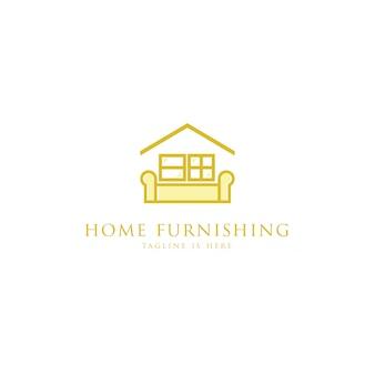 Logotipo de muebles para el hogar