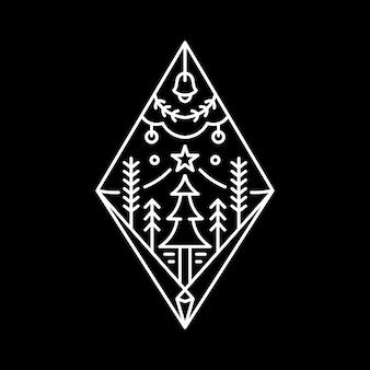 Logotipo de navidad