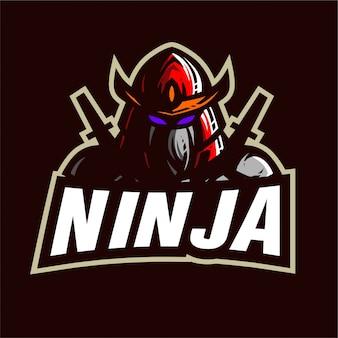 Logotipo de ninja e-sports