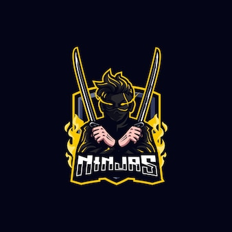 Logotipo de ninja esports