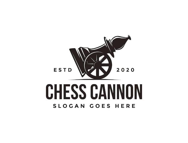 Logotipo de obispo de cañón