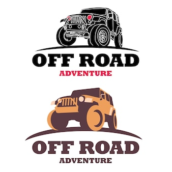Logotipo de offroad car