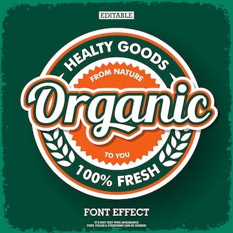 Logotipo orgánico moderno para empresa fresca y marca