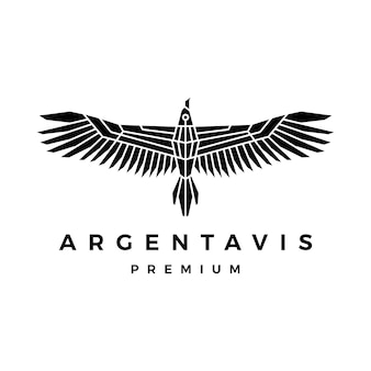 Logotipo del pájaro argentavis
