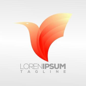Logotipo de pájaro