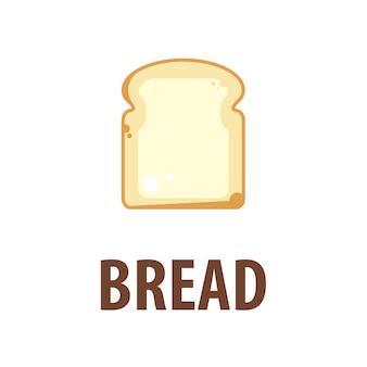 Logotipo de pan de vector