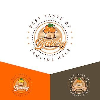 Logotipo de panadería elegante