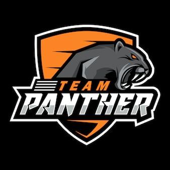 Logotipo de pantera esport