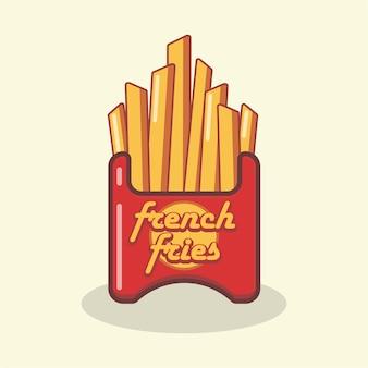 Logotipo de papas fritas