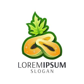 Logotipo de papaya