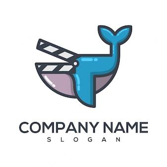 Logotipo de la película de las ballenas