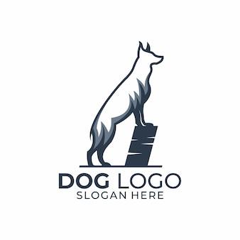 Logotipo de perro