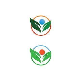 Logotipo de personas exitosas, marca de trabajo en equipo y logotipo de empresa, comunidad de vectores, unidad colorida y amistad, logotipo de cuidado de trabajo en equipo de socios