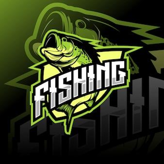 Logotipo de pesca