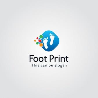 Logotipo con pies