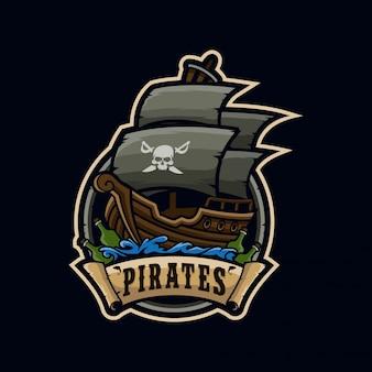 Logotipo de pirates esport