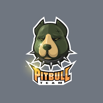 Logotipo de pitbull