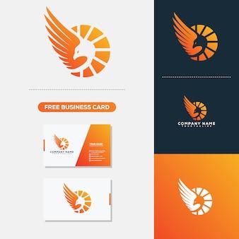 Logotipo y plantilla de vector de tarjeta de visita