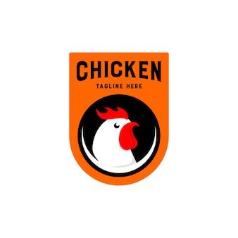 Logotipo de pollo asado