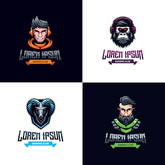 Logotipo de premium bundle gaming
