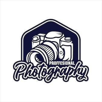Logotipo profesional de fotografía
