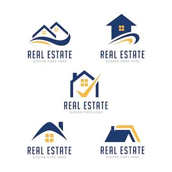 Logotipo de la propiedad moderna