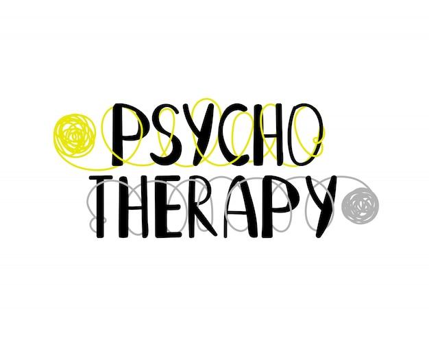 Logotipo de psicoterapia