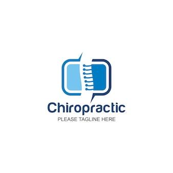 Logotipo de quiropráctica