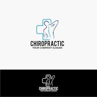 Logotipo quiropráctico