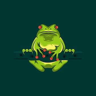 Logotipo de la rana