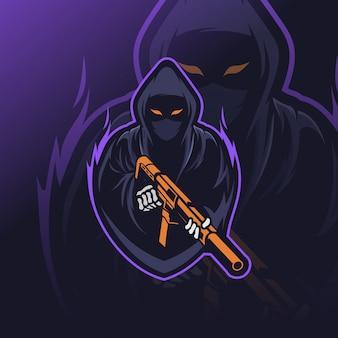 Logotipo de reaper esport