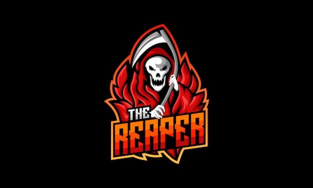 El logotipo de reaper esports